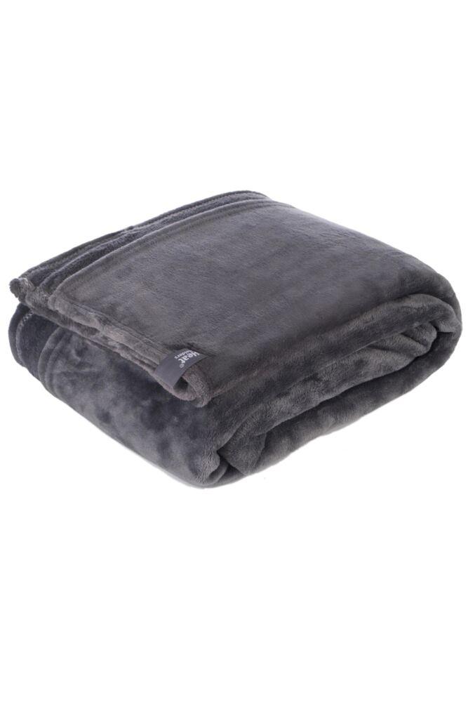 SockShop Heat Holders Snuggle Up Thermal Blanket In Antique Silver