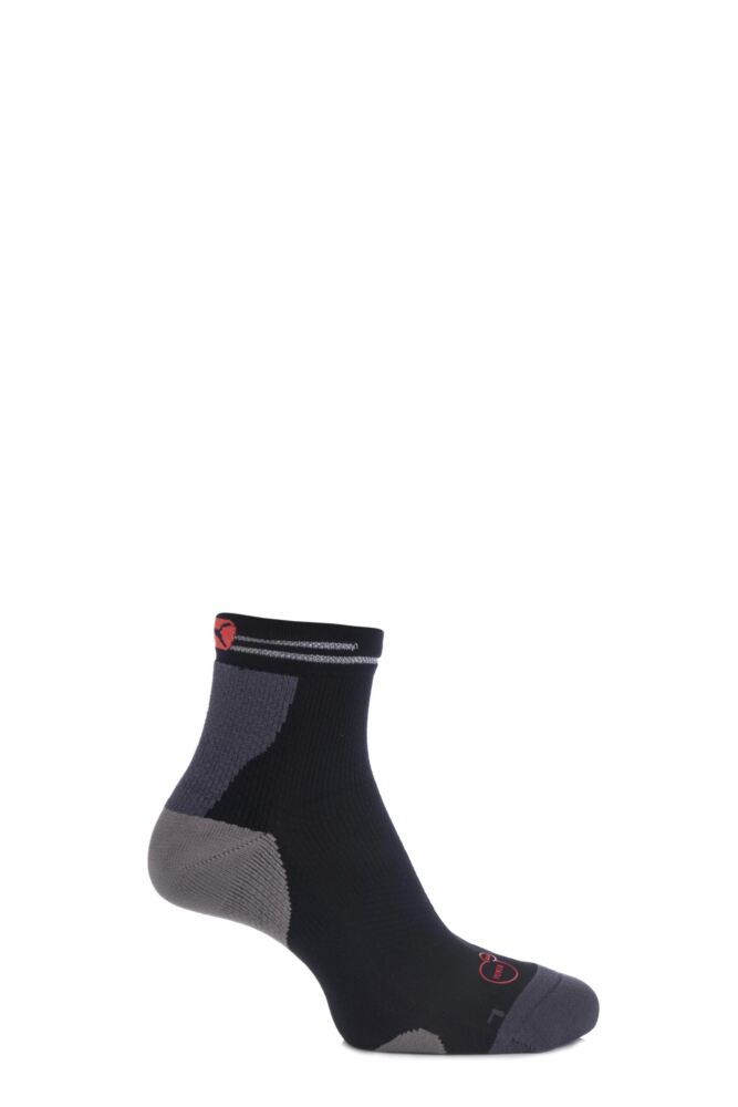 Mens and Ladies 1 Pair Puma PowerCELL Performance and Mid-Weight Quarter Running Socks