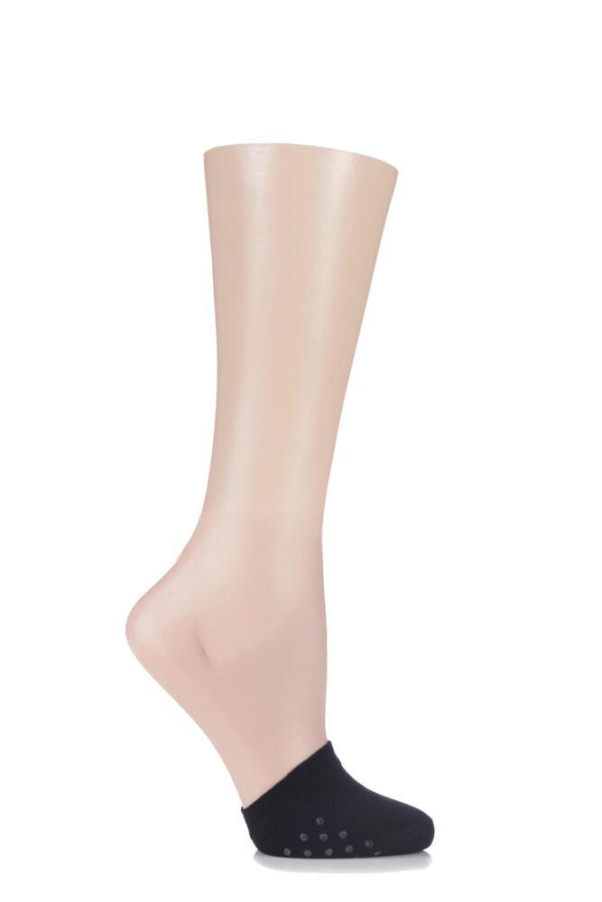 Ladies 1 Pair Elle Bamboo Toe Covers