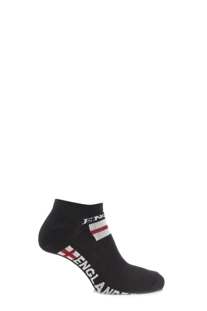 Boys and Girls 3 Pair England Trainer Socks 50% OFF