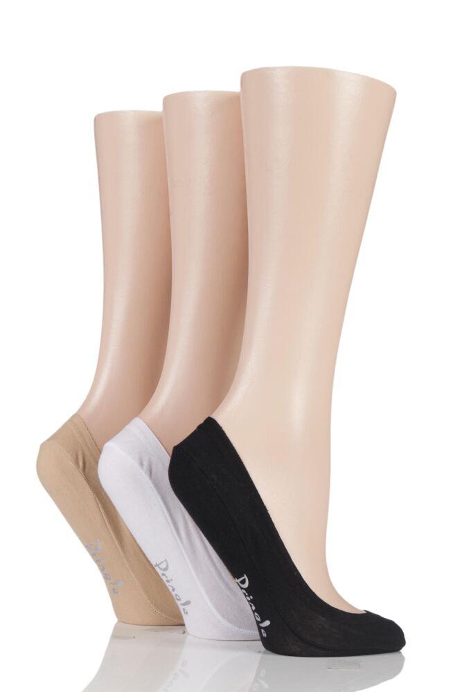 Ladies 3 Pair Pringle Marian Shoe Liners
