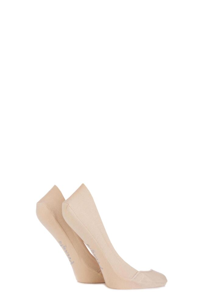 Ladies 2 Pair Pringle Melinda Laser Cut Shoe Liners
