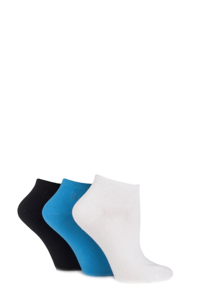 Ladies 3 Pair Pringle Meryl Plain Secret Socks