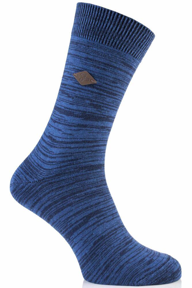 Mens 1 Pair Farah 1920 Degraded Look Cotton Socks 50% OFF