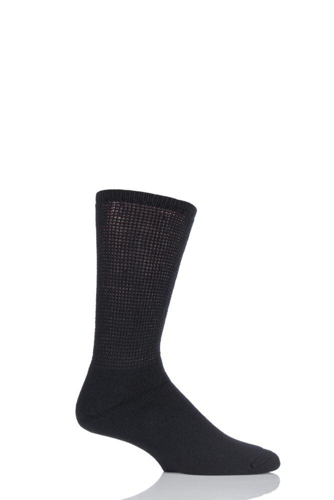 Mens 1 Pair HJ Hall Diabetic Socks