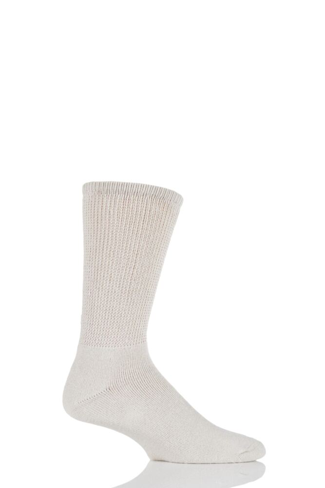 Mens 1 Pair HJ Hall Diabetic Socks