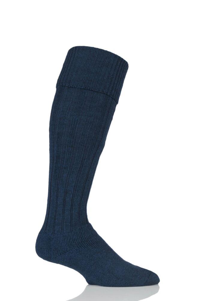 Mens 1 Pair HJ Hall Merino Wool Cushioned Foot Shooting Socks