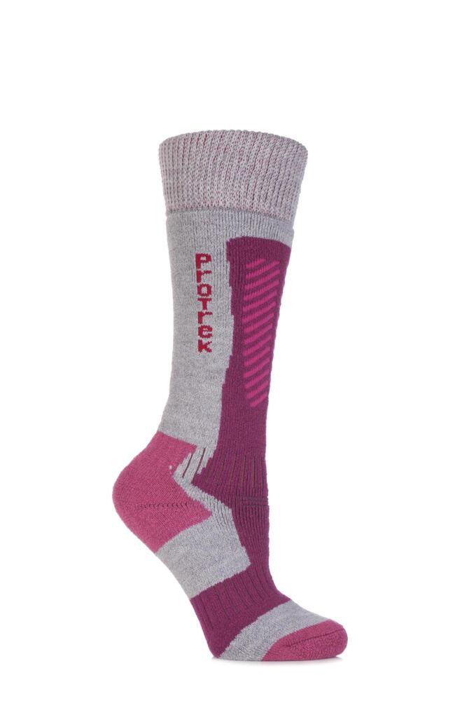 Ladies 1 Pair HJ Hall ProTrek Extreme Merino Wool Technical Heavy Weight Socks