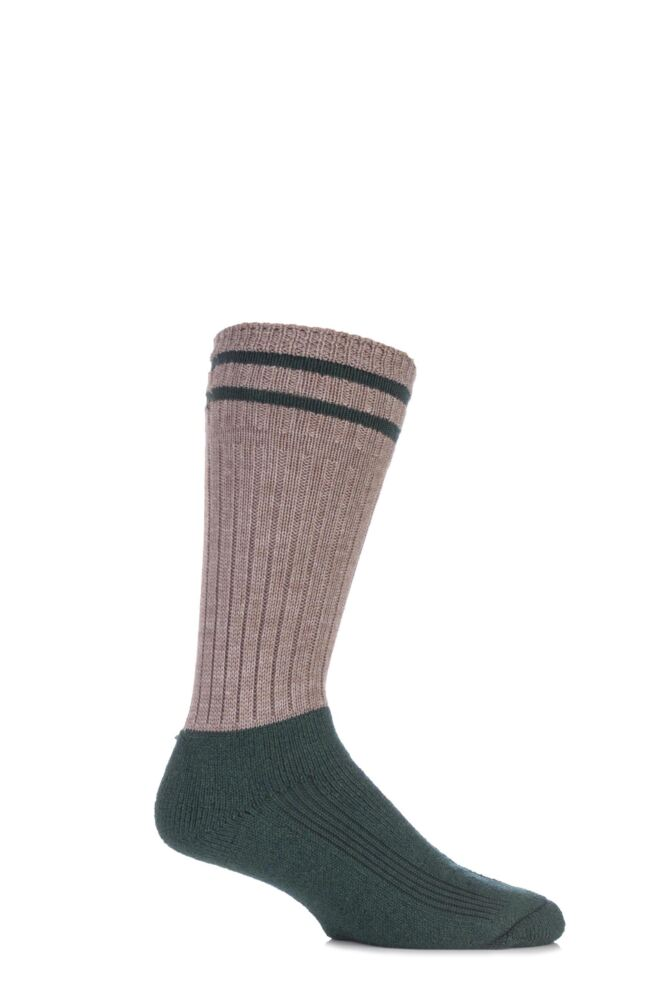 Mens 1 Pair HJ Hall ProTrek Explorer Softop Merino Wool Boot Socks