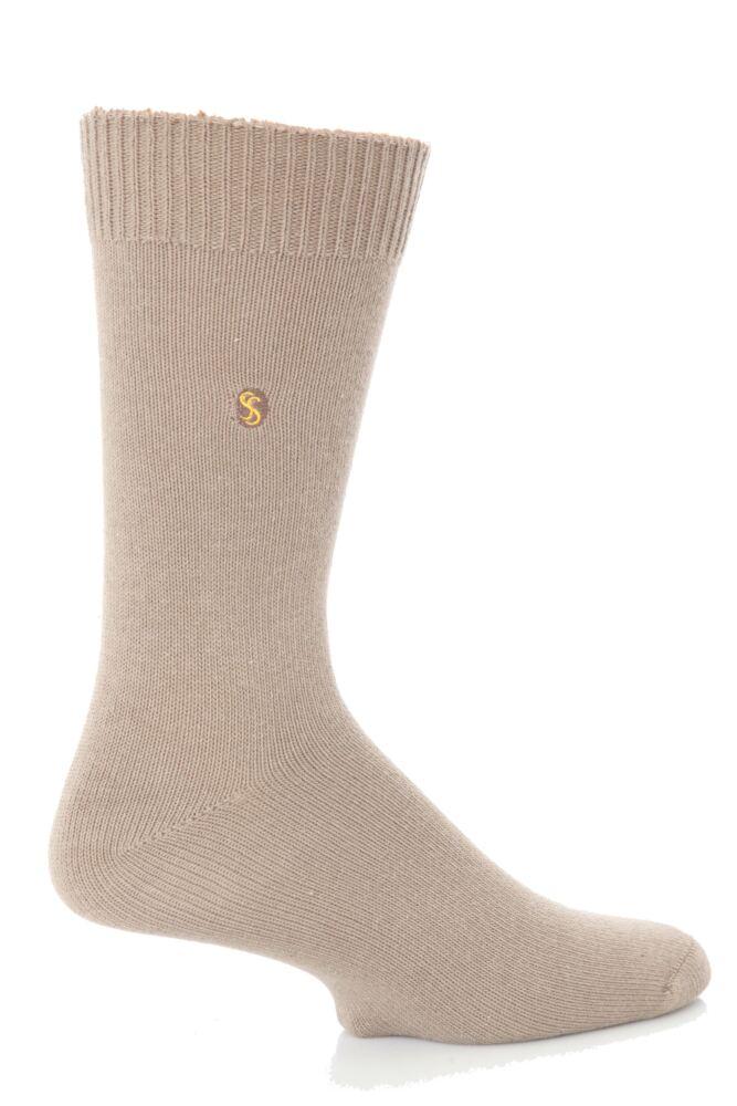 Mens 1 Pair SockShop Colour Burst Cotton Sock In 24 Colours