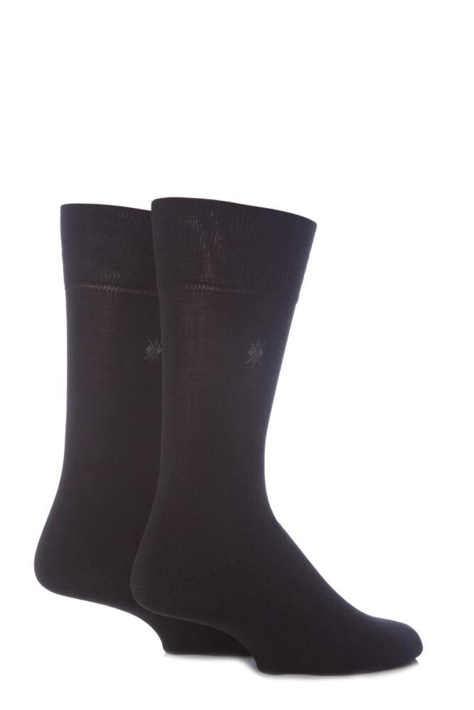 Mens 2 Pair Burlington Everyday Cotton Socks