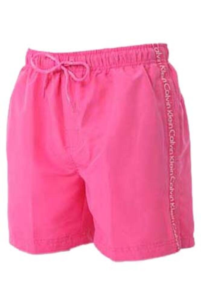 Mens 1 Pair Calvin Klein Logo Tape Drawstring Swim Shorts