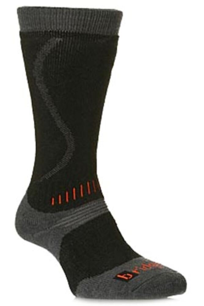Kids 1 Pair Bridgedale All Mountain Winter Activity Socks for Maximum Warmth In 2 Colours