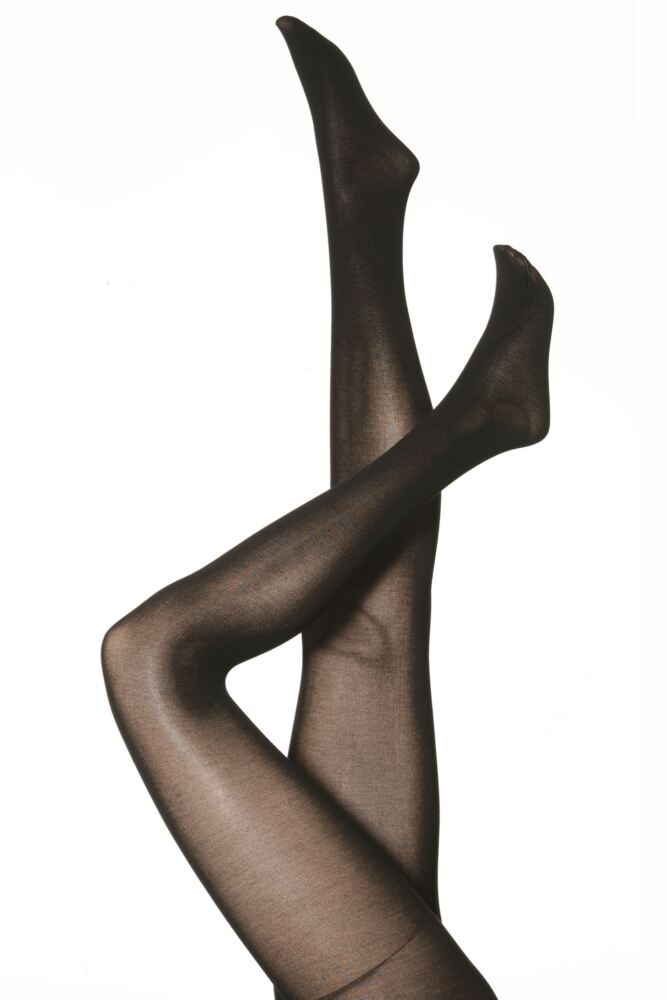 Ladies 1 Pair Falke Cotton Touch Tights