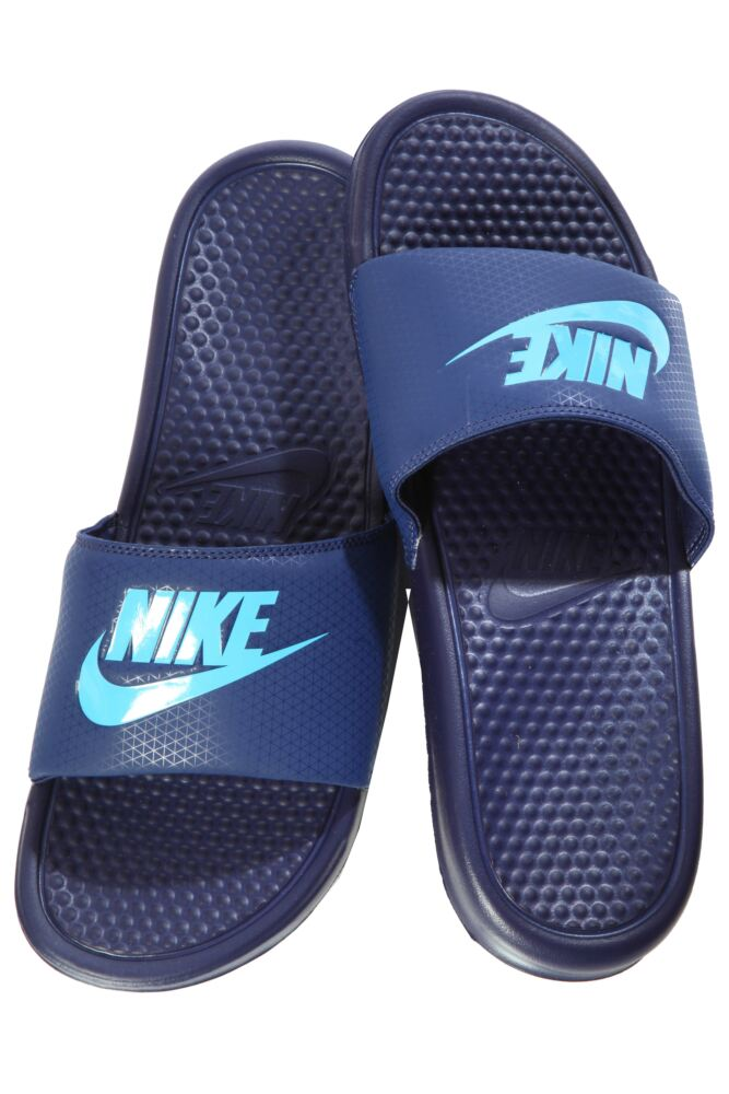 Mens 1 Pair Nike Benassi JDI Flip Flops In 2 Colours