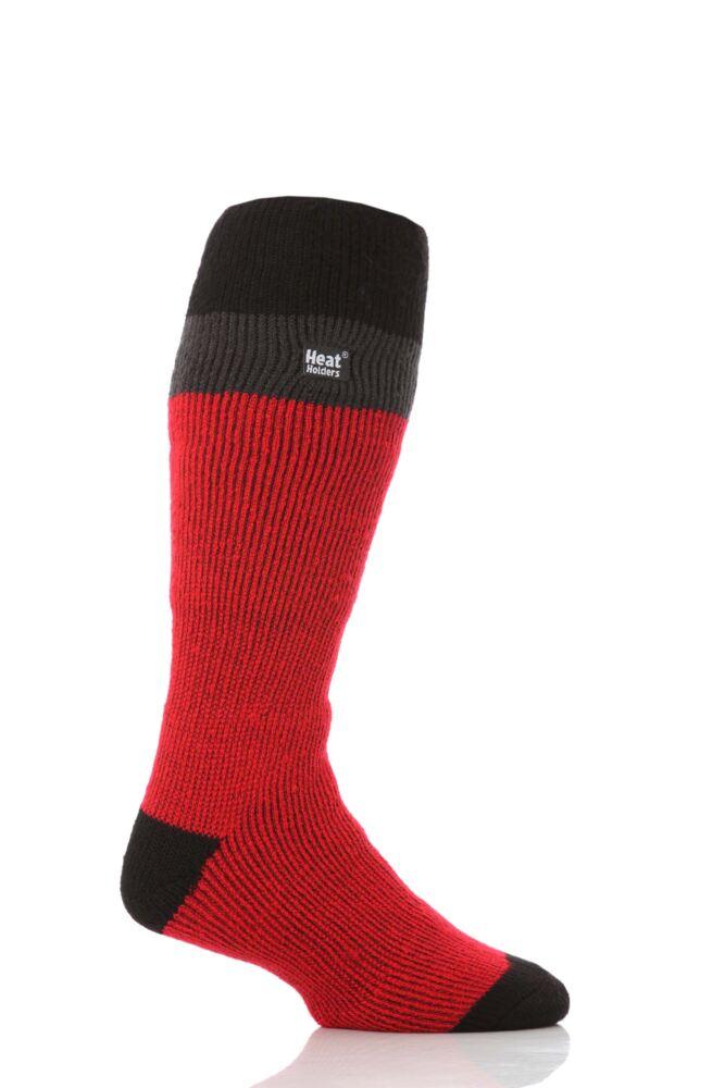 Mens 1 Pair SockShop Ski Heat Holders Thermal Socks