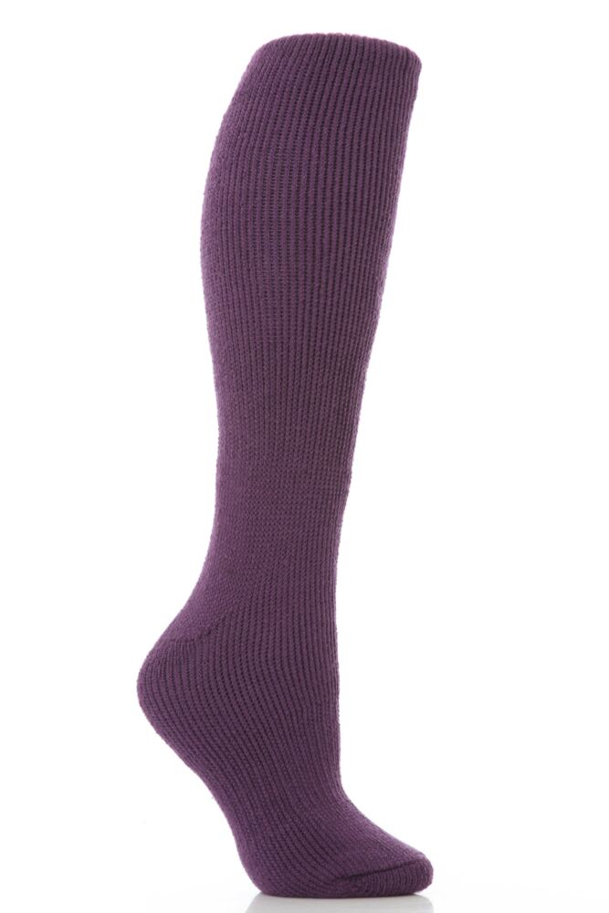 Ladies 1 Pair SockShop Long Heat Holders Thermal Socks In 13 Colours
