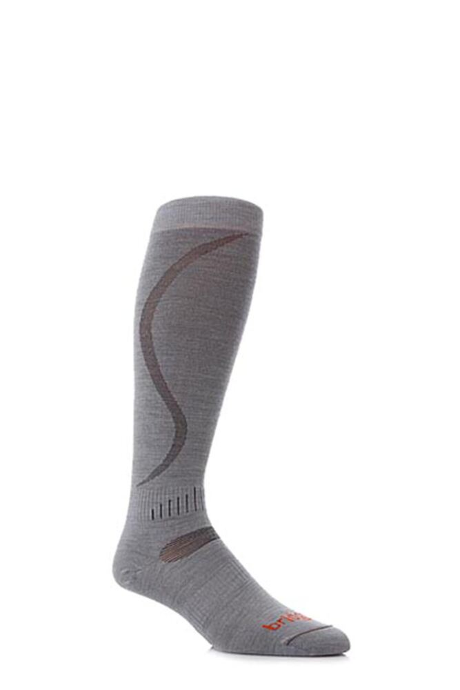 Mens and Ladies 1 Pair Bridgedale Ultra Fit Ski Socks