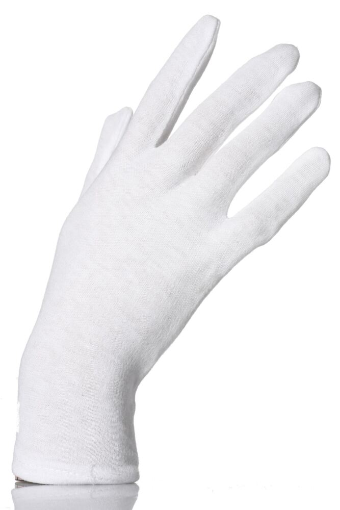 Ladies 1 Pair SockShop Cotton Hosiery Gloves