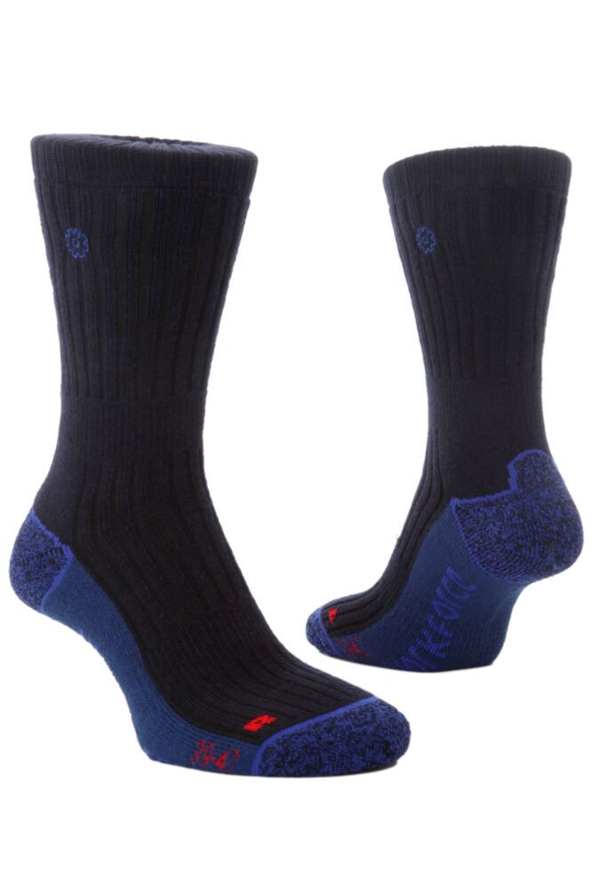 Mens 1 Pair Workforce By SockShop Professional Construction Socks In 2 Colours