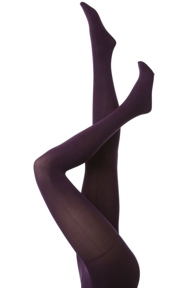 Ladies 1 Pair Charnos 100 Denier Opaque Tights In 4 Colours