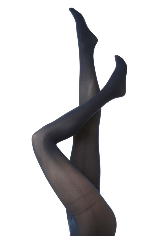 Ladies 3 Pair Charnos 40 Denier Tights With Comfort Top