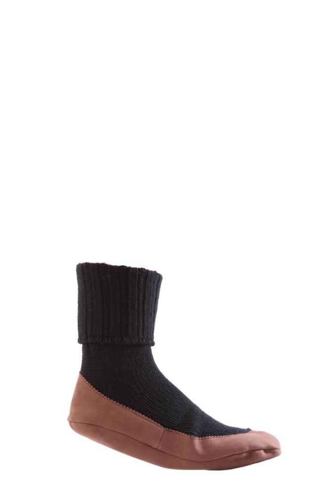 Mens 1 Pair Falke Cottage Slipper Socks