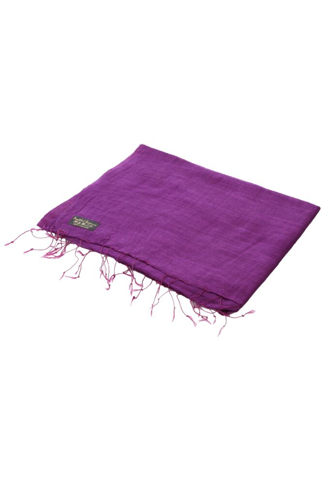 Ladies Bewitched Raw Silk Effect Viscose Scarf 25% OFF