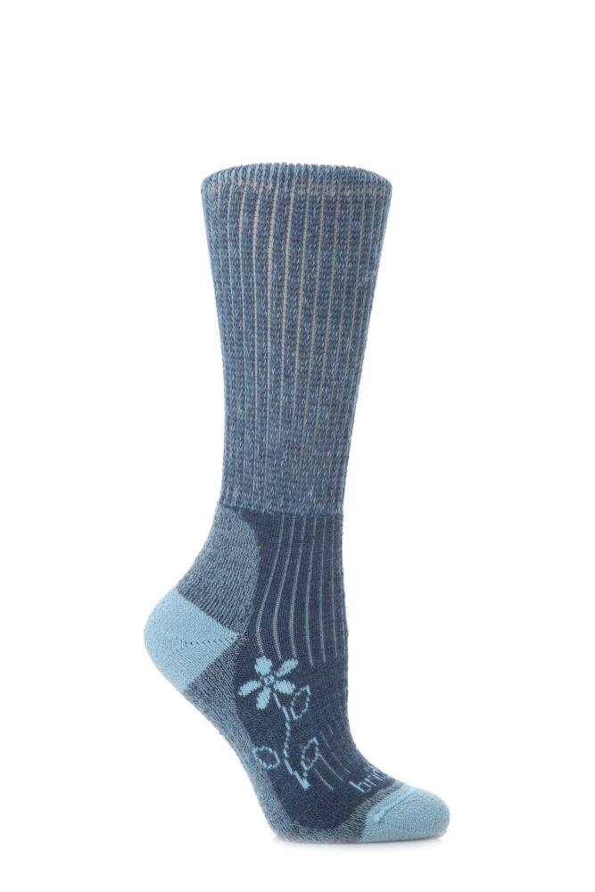 Ladies 1 Pair Bridgedale New Comfort Trekker Sock For All Season Hiking