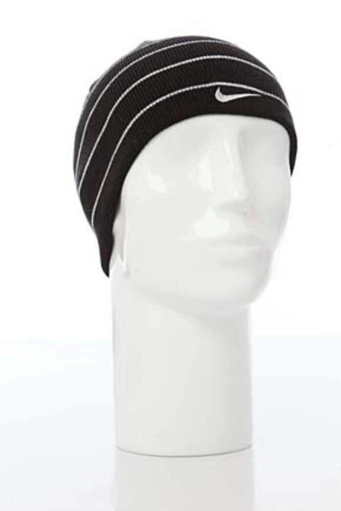 Mens and Ladies Nike Knit Beanie Solid Reversible 50% OFF