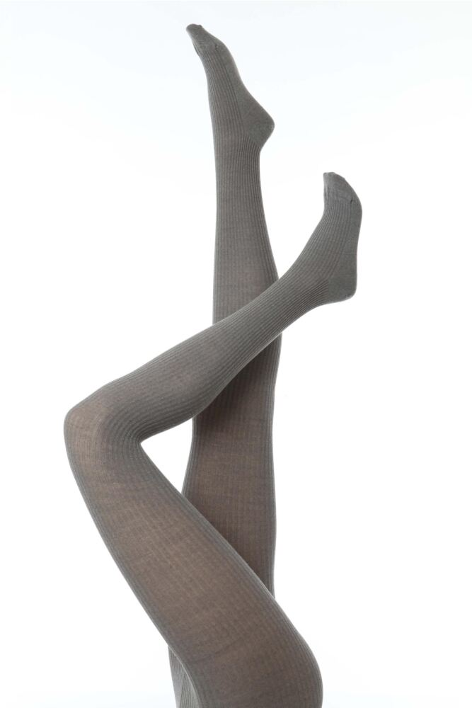 Ladies 1 Pair Falke Soft Merino Wool Rib Tights