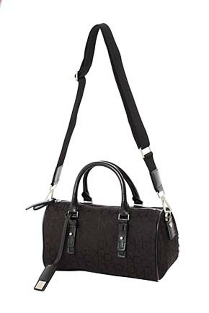 Ladies Calvin Klein Logo Satchel 60% OFF