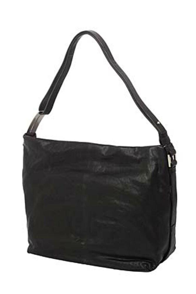 Ladies Calvin Klein Textured Leather Large Hobo Handbag - Sale
