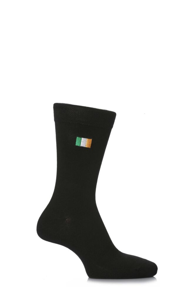 Mens 1 Pair SockShop Individual Nations Embroidered Socks - 16 To Choose From
