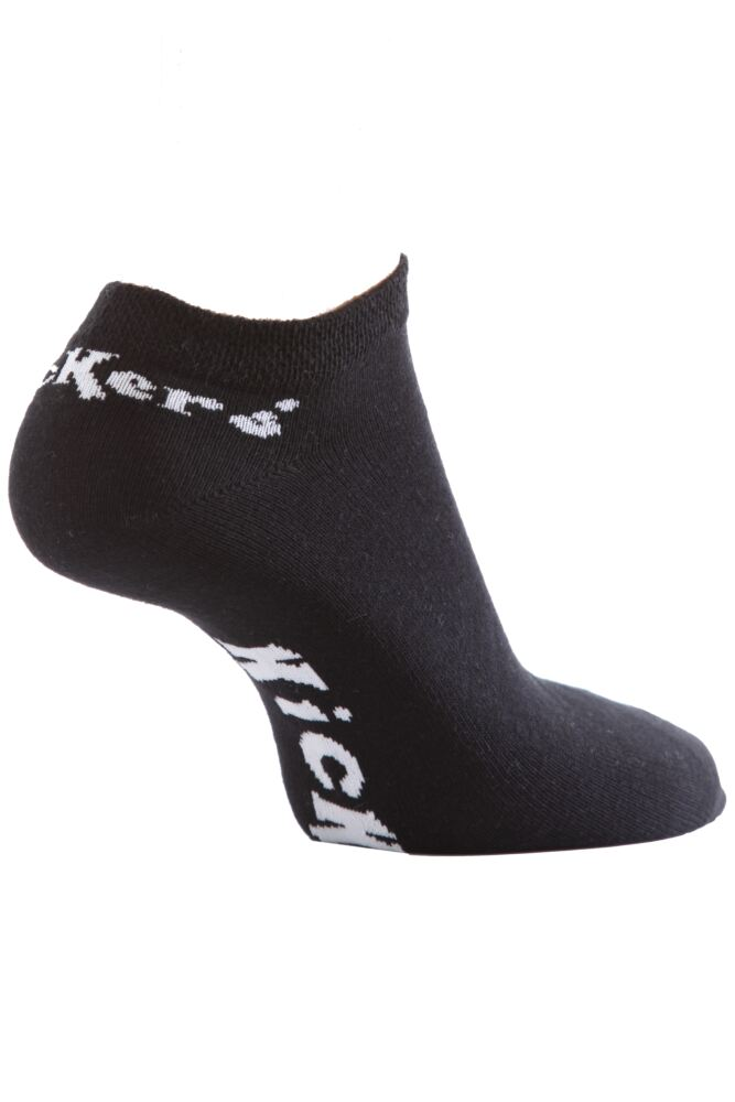 Mens 3 Pair Kickers Plain Trainer Socks 33% OFF