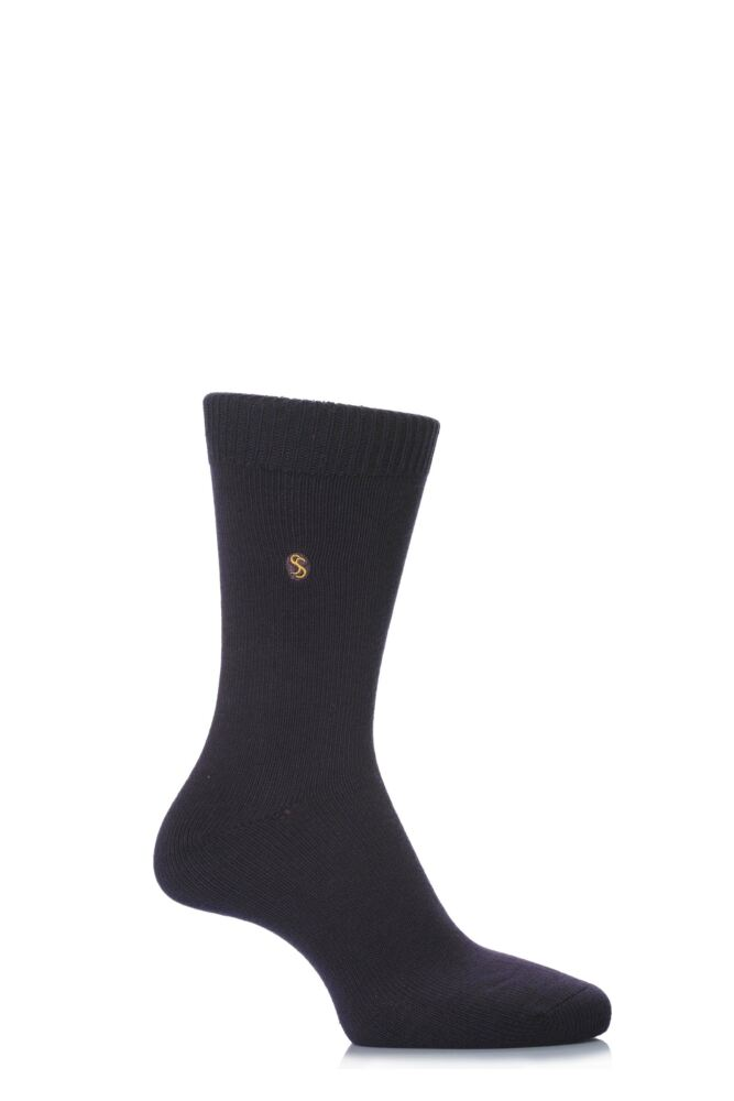 Mens 1 Pair SockShop Colour Burst Cotton Socks