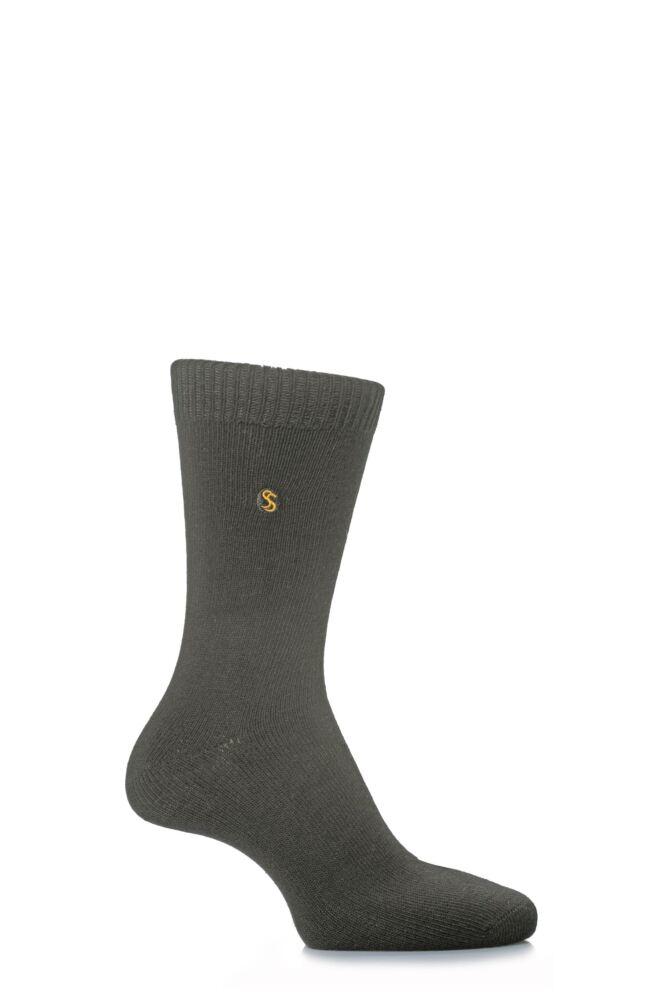 Mens 1 Pair SockShop Colour Burst Cotton Socks
