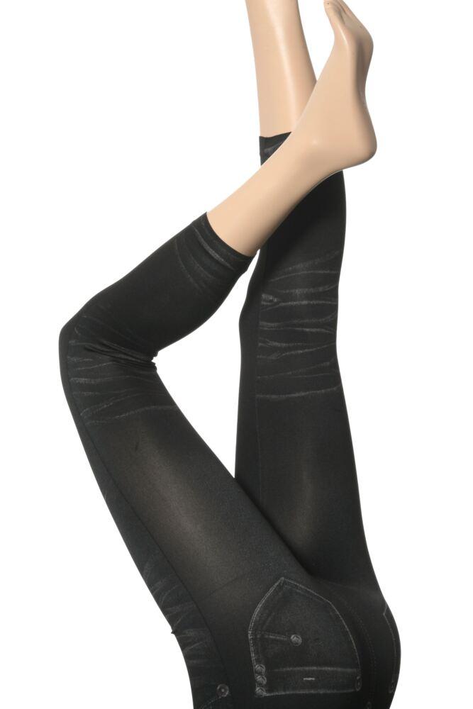 Ladies 1 Pair Silky Jeggings - Leggings Disguised As Jeans - 25% OFF This Style