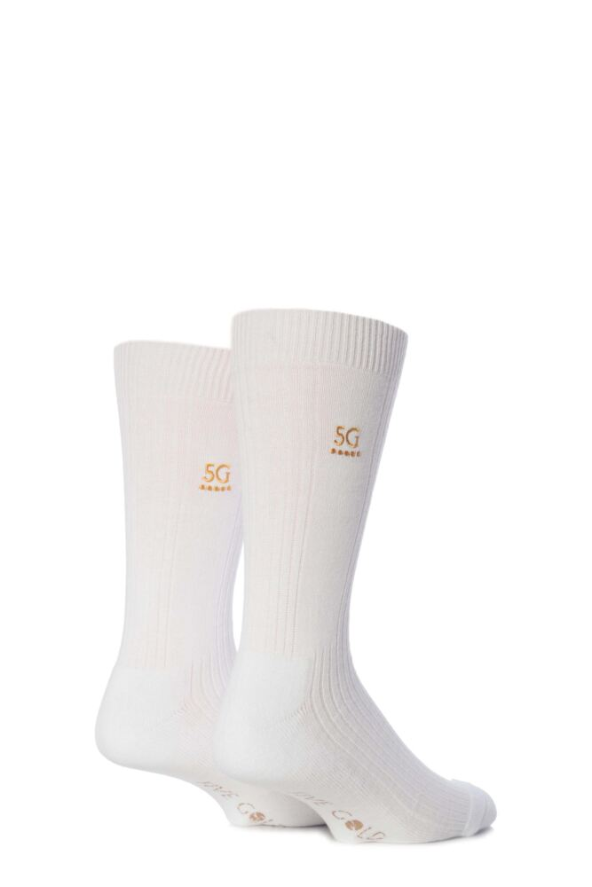 Mens 2 Pair FiveG Endurance Cushioned Sport Sock