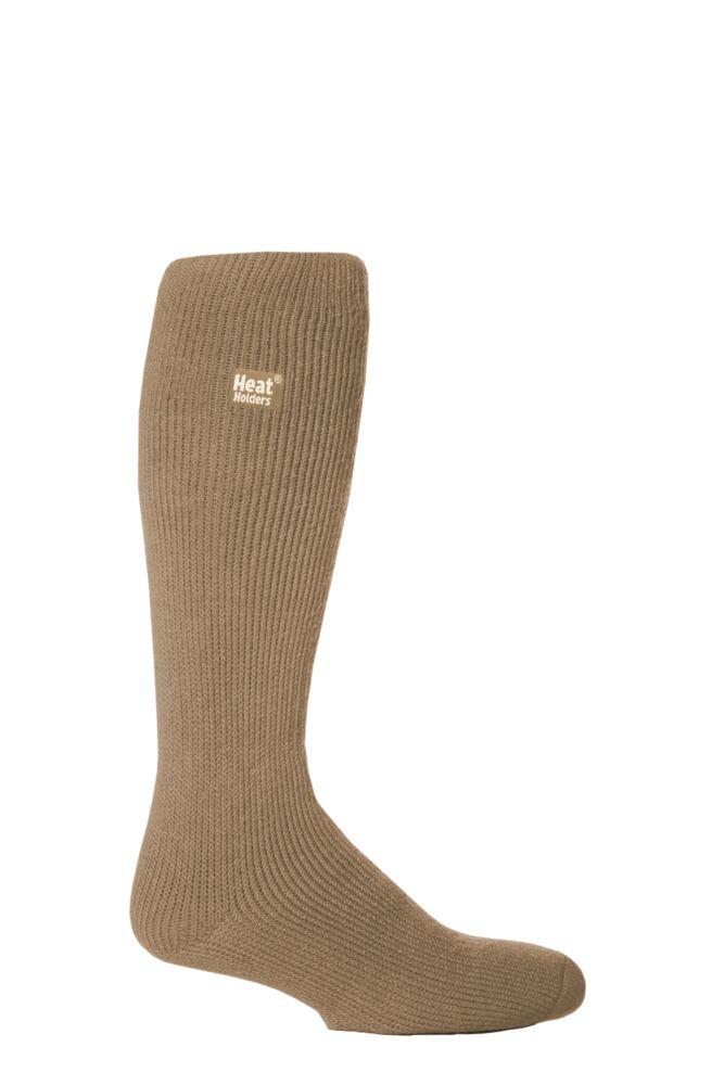 Mens 1 Pair SockShop Long Heat Holders Thermal Socks