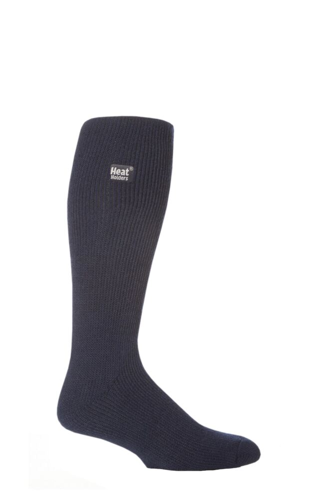 Mens 1 Pair SockShop Long Heat Holders Thermal Socks
