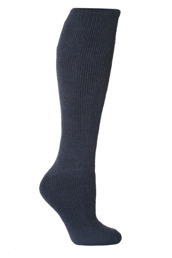 Ladies 1 Pair SockShop Long Heat Holders Thermal Socks