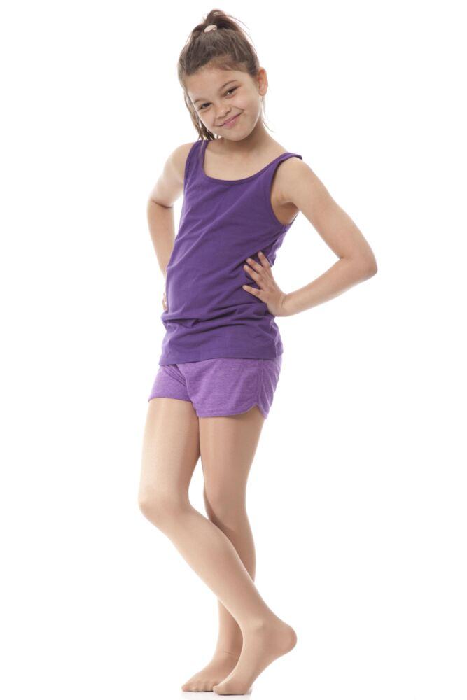 Girls 1 Pair Silky Dance Shimmer Full Foot Tights