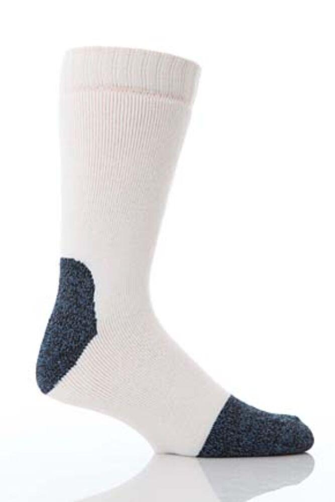 Mens 1 Pair Workforce Steel Safety Socks In 3 Colours