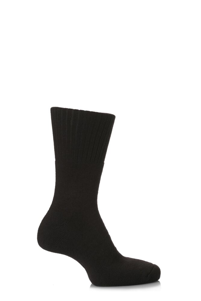 Mens and Ladies 1 Pair SockShop Comfort Cuff and Full Cushioned Cotton Socks 25% OFF This Style