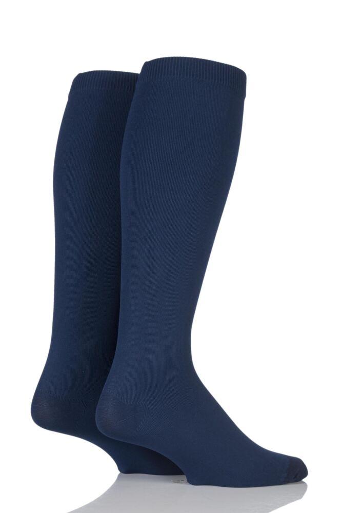 Mens 2 Pair Iomi Footnurse Energising Compression Socks