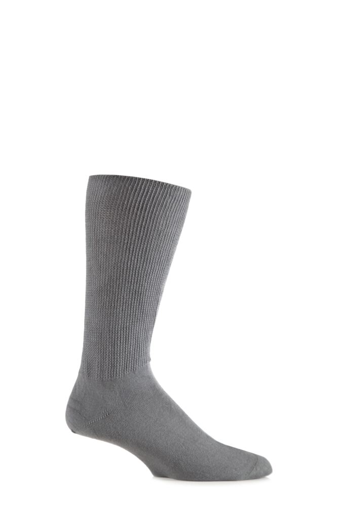 Mens 1 Pair Iomi Footnurse Oedema Extra Wide Cotton Socks