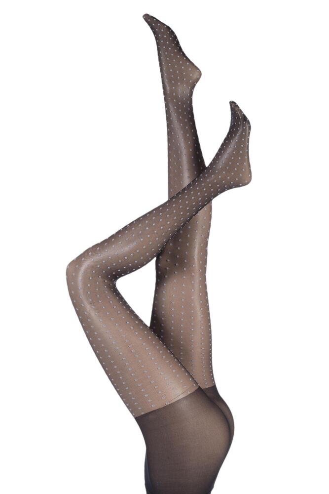 Ladies 1 Pair Jonathan Aston Aurora Spot Tights 25% OFF