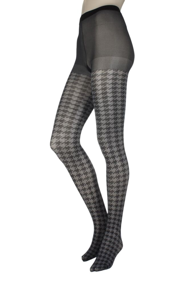 Ladies 1 Pair Jonathan Aston Houndstooth Tights