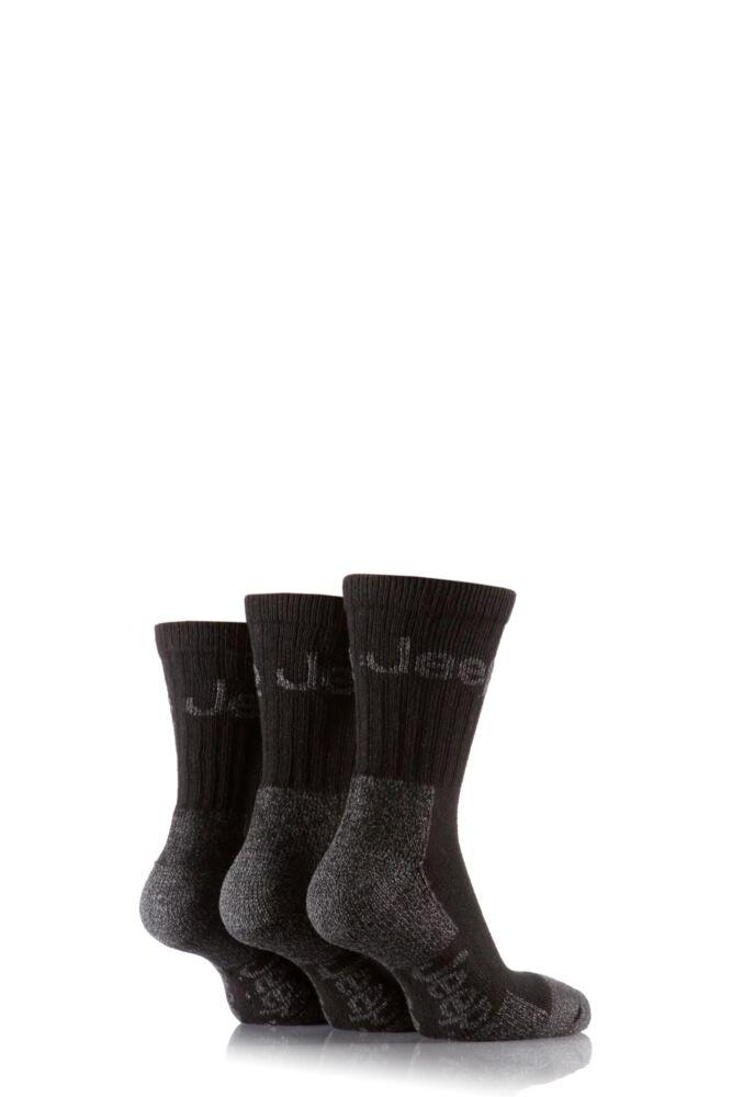 Mens 3 Pair Jeep Luxury Terrain Socks